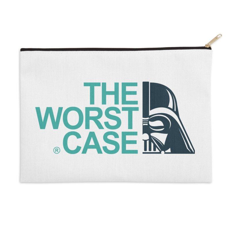 The Worst Case - Darth Vader Accessories Zip Pouch by zoelone's Artist Shop