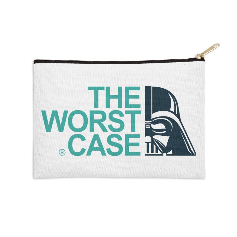 The Worst Case - Darth Vader Accessories Zip Pouch by zoelone's Artist Shop