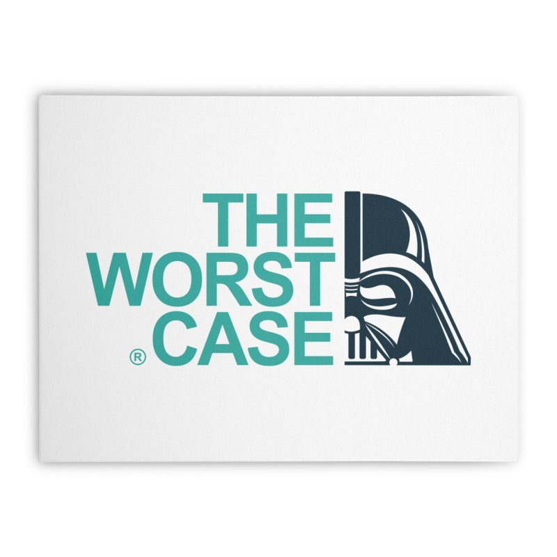 The Worst Case - Darth Vader Home Stretched Canvas by zoelone's Artist Shop