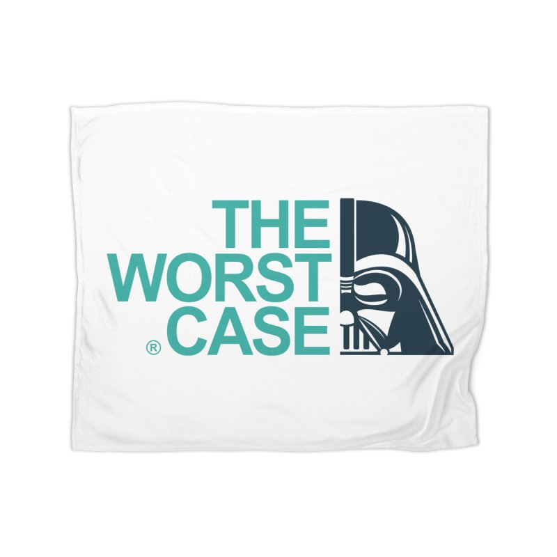 The Worst Case - Darth Vader Home Fleece Blanket Blanket by zoelone's Artist Shop