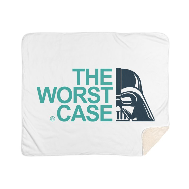 The Worst Case - Darth Vader Home Sherpa Blanket Blanket by zoelone's Artist Shop