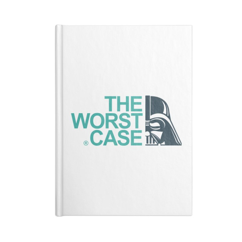 The Worst Case - Darth Vader Accessories Blank Journal Notebook by zoelone's Artist Shop