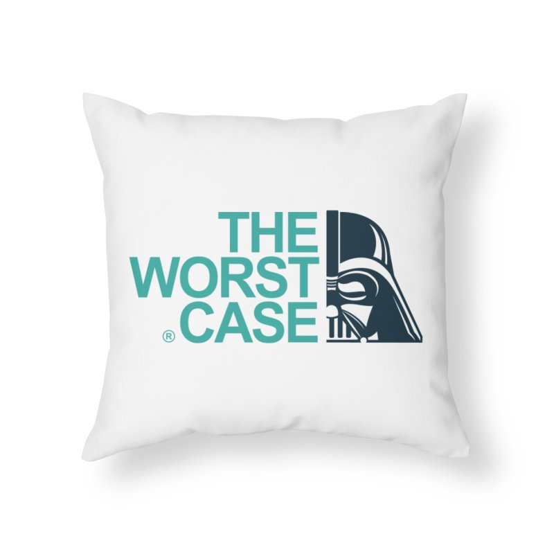 The Worst Case - Darth Vader Home Throw Pillow by zoelone's Artist Shop