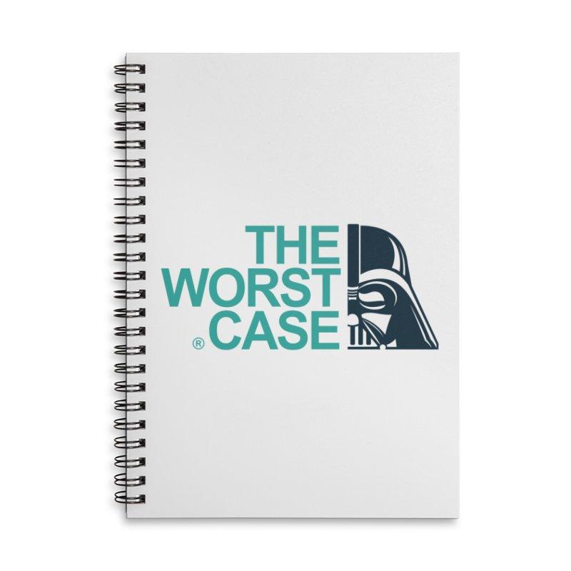 The Worst Case - Darth Vader Accessories Notebook by zoelone's Artist Shop