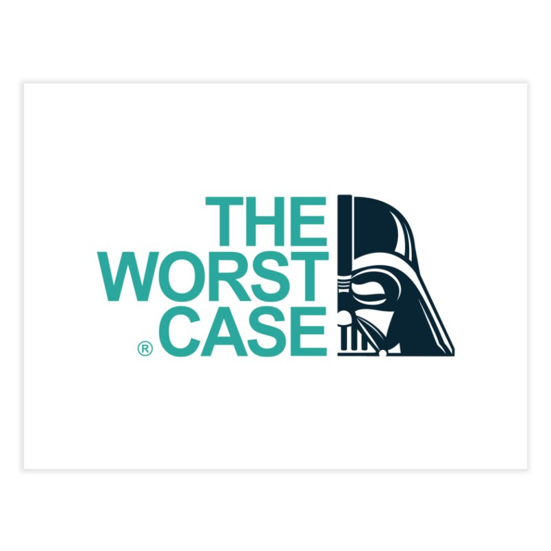The Worst Case - Darth Vader Home Fine Art Print by zoelone's Artist Shop
