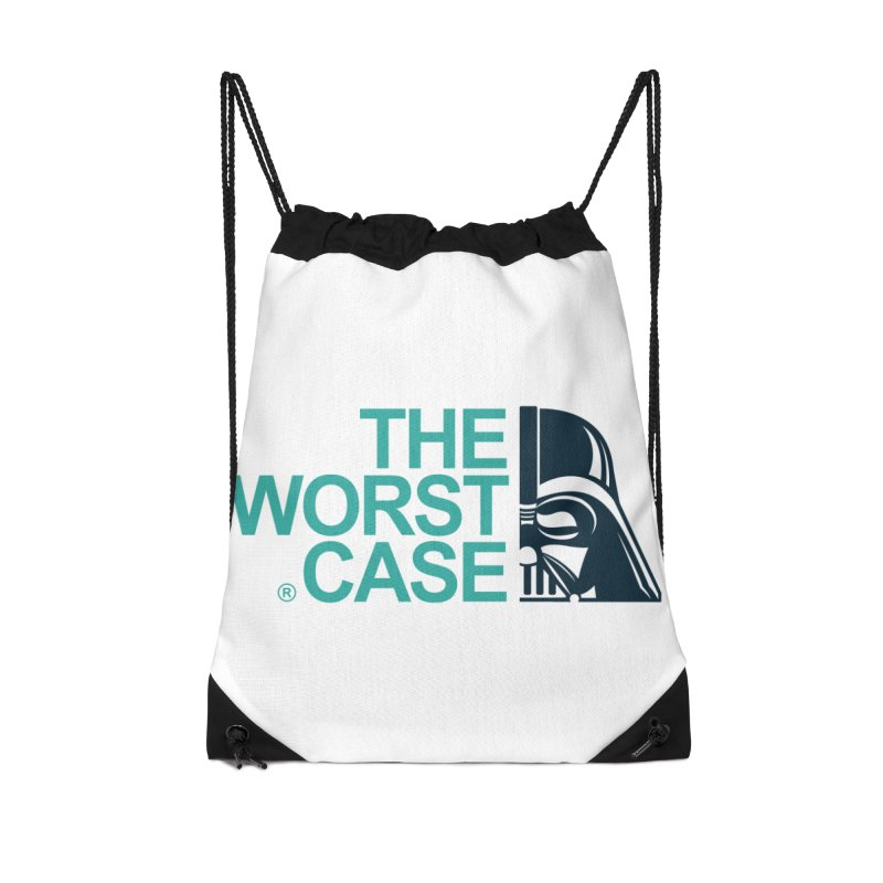 The Worst Case - Darth Vader Accessories Drawstring Bag Bag by zoelone's Artist Shop