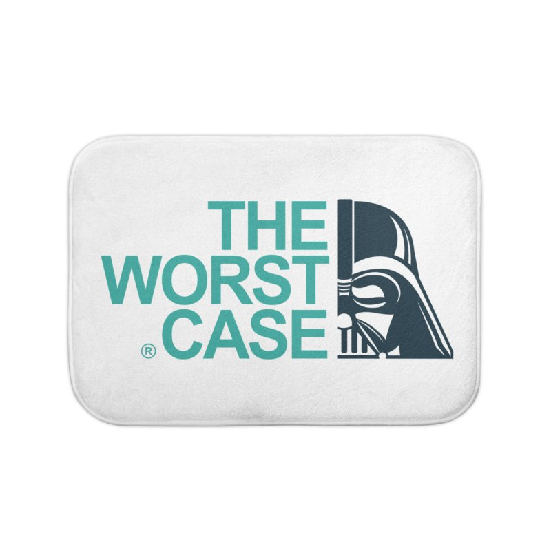 The Worst Case - Darth Vader Home Bath Mat by zoelone's Artist Shop