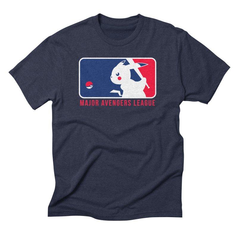 Major Avengers League Men's Triblend T-Shirt by zoelone's Artist Shop