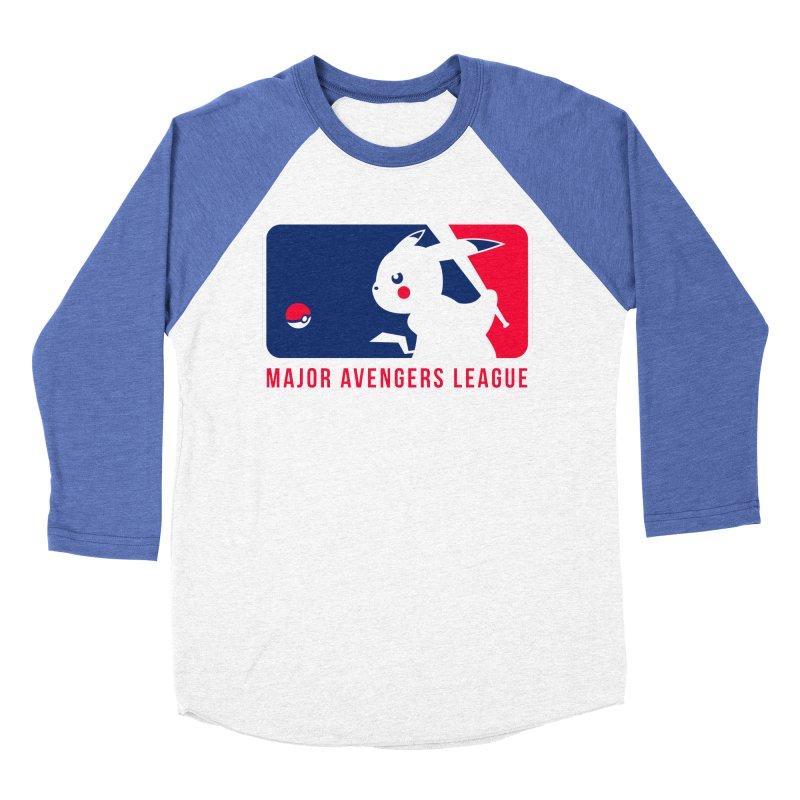 Major Avengers League Women's Baseball Triblend Longsleeve T-Shirt by zoelone's Artist Shop