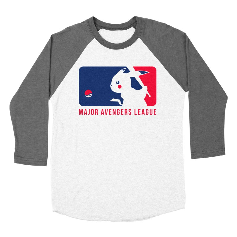 Major Avengers League Women's Baseball Triblend Longsleeve T-Shirt by zoelone's Artist Shop