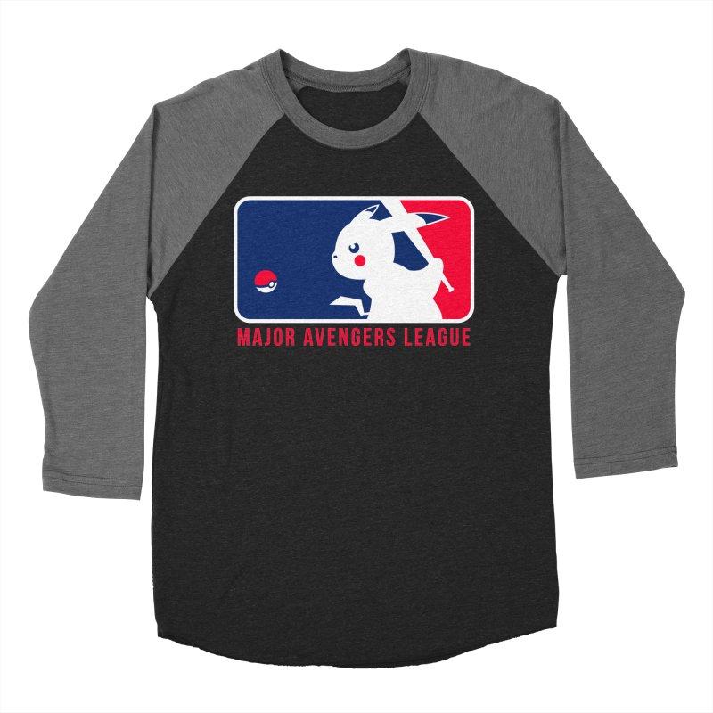 Major Avengers League Women's Baseball Triblend T-Shirt by zoelone's Artist Shop