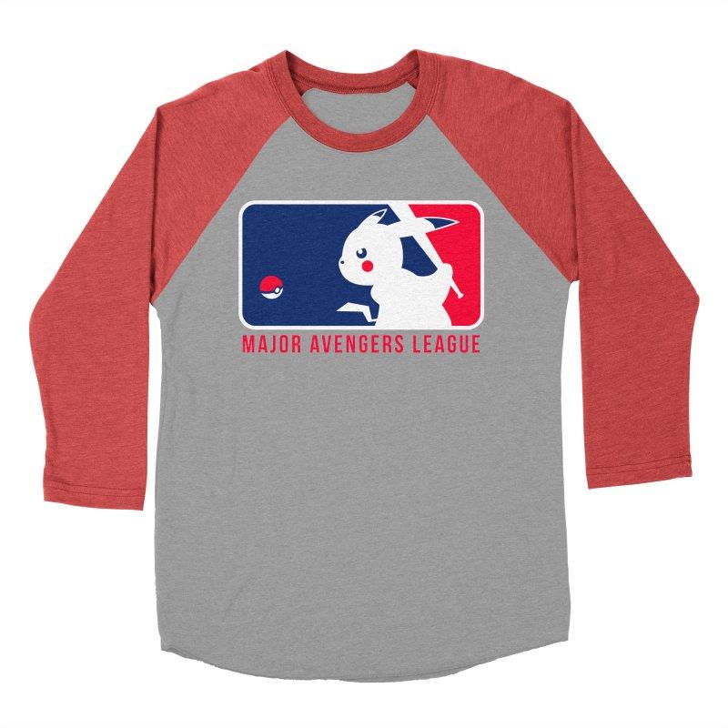 Major Avengers League Men's Baseball Triblend Longsleeve T-Shirt by zoelone's Artist Shop