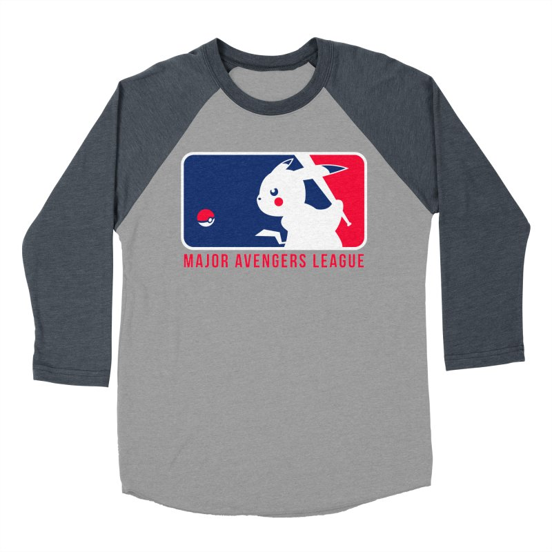Major Avengers League Men's Baseball Triblend T-Shirt by zoelone's Artist Shop