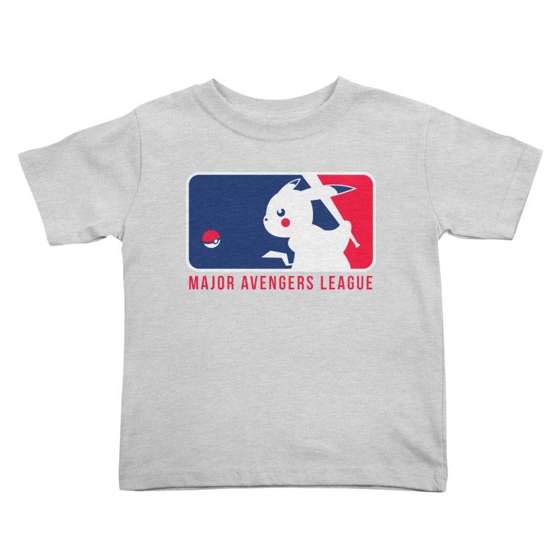 Major Avengers League Kids Toddler T-Shirt by zoelone's Artist Shop