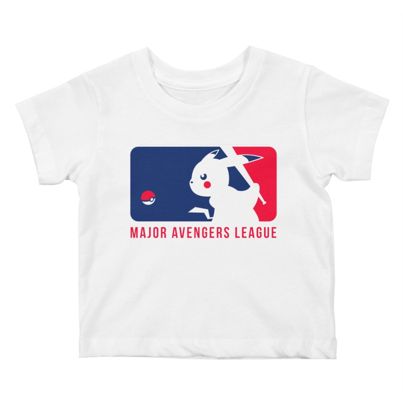 Major Avengers League Kids Baby T-Shirt by zoelone's Artist Shop