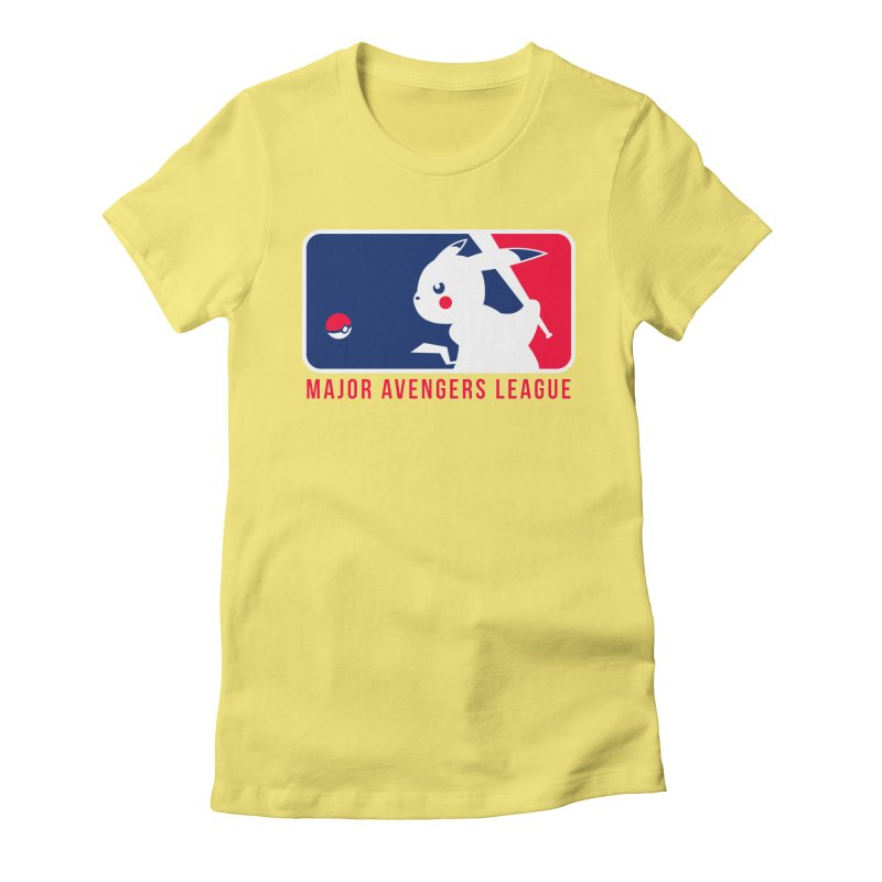 Major Avengers League Women's T-Shirt by zoelone's Artist Shop