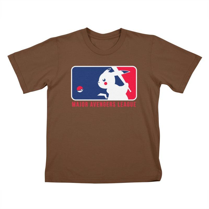 Major Avengers League Kids T-Shirt by zoelone's Artist Shop