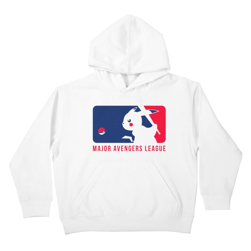 Major Avengers League Kids Pullover Hoody by zoelone's Artist Shop