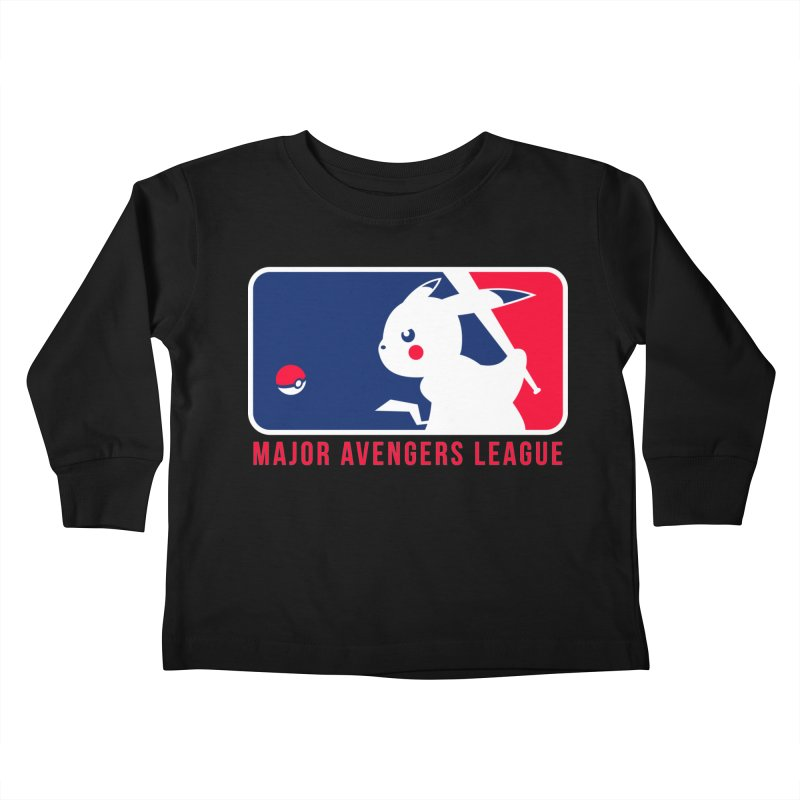 Major Avengers League Kids Toddler Longsleeve T-Shirt by zoelone's Artist Shop