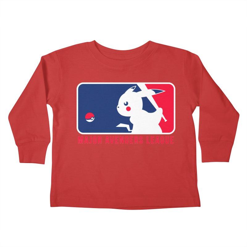 Major Avengers League Kids Toddler Longsleeve T-Shirt by zoelone's Artist Shop