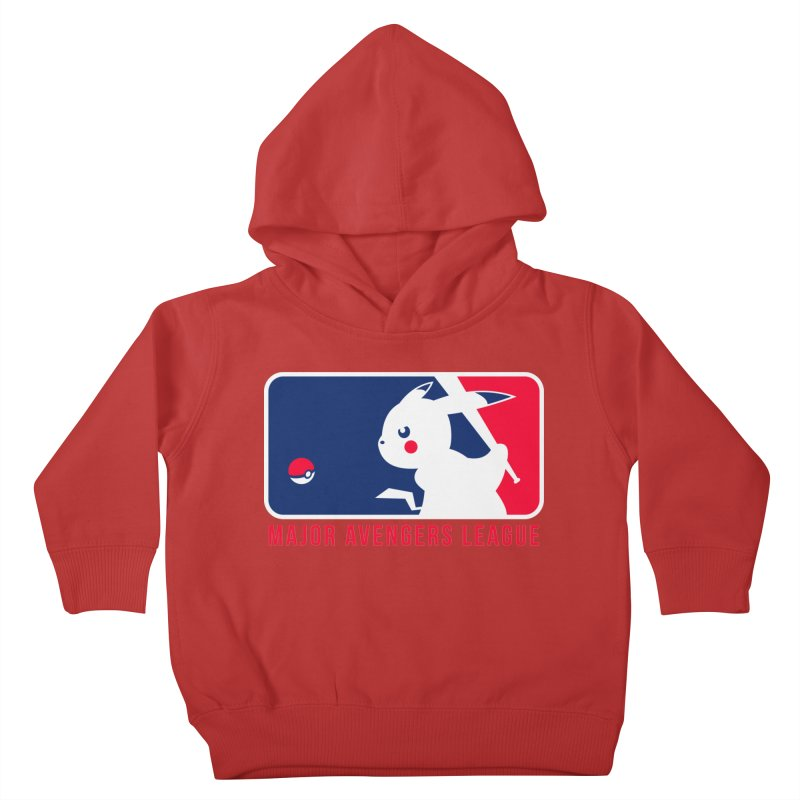 Major Avengers League Kids Toddler Pullover Hoody by zoelone's Artist Shop
