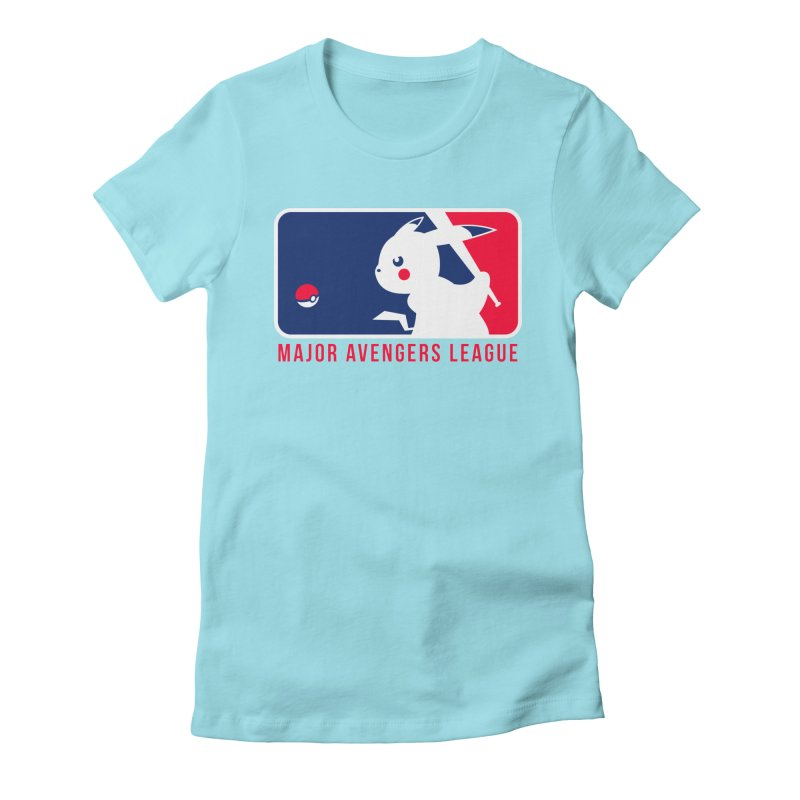 Major Avengers League Women's Fitted T-Shirt by zoelone's Artist Shop