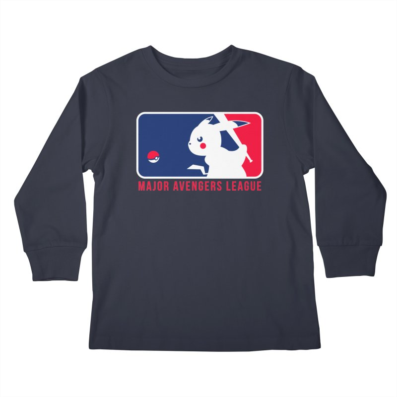 Major Avengers League Kids Longsleeve T-Shirt by zoelone's Artist Shop