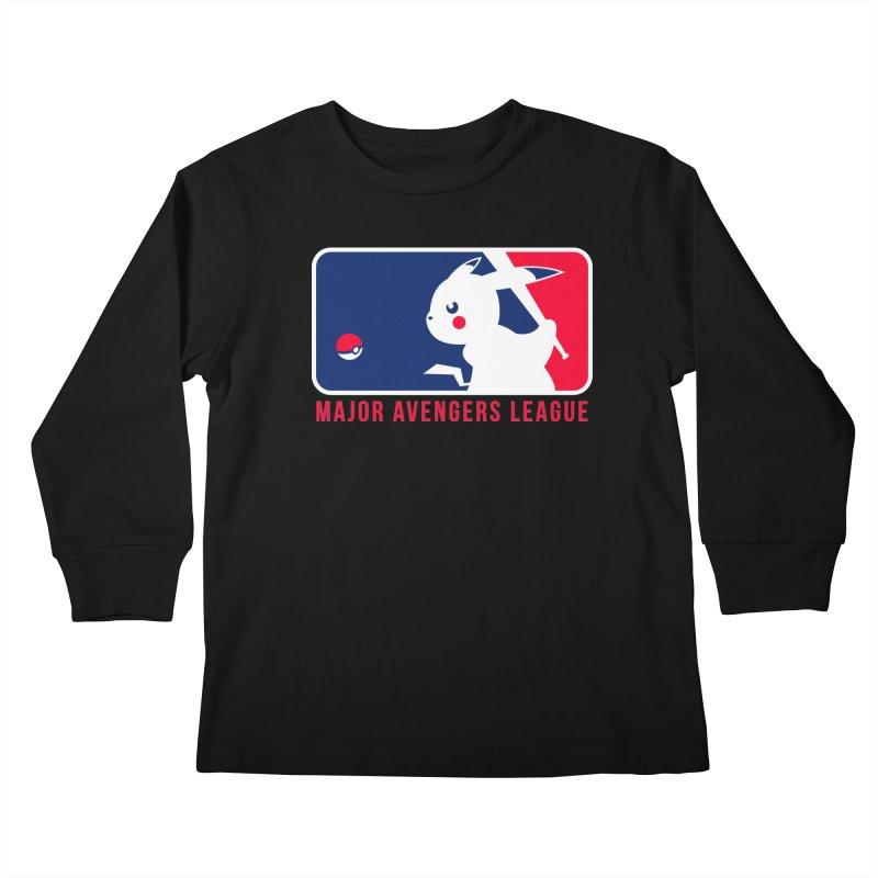 Major Avengers League Kids Longsleeve T-Shirt by zoelone's Artist Shop