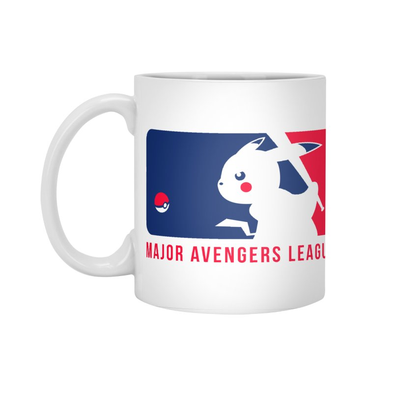 Major Avengers League Accessories Standard Mug by zoelone's Artist Shop