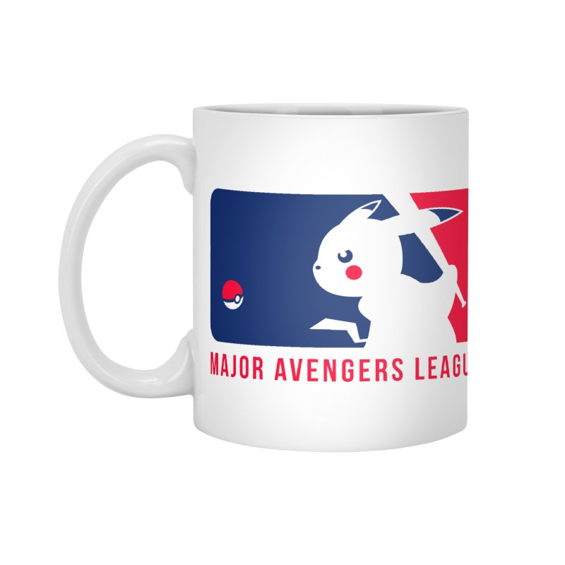 Major Avengers League Accessories Mug by zoelone's Artist Shop