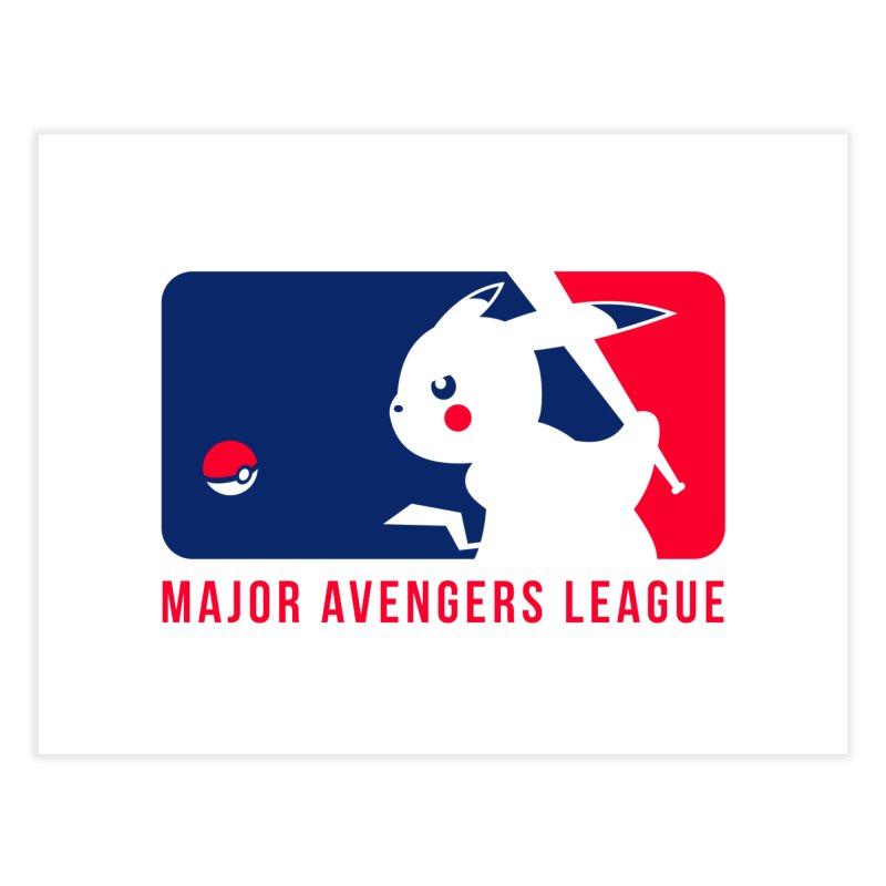 Major Avengers League Home Fine Art Print by zoelone's Artist Shop