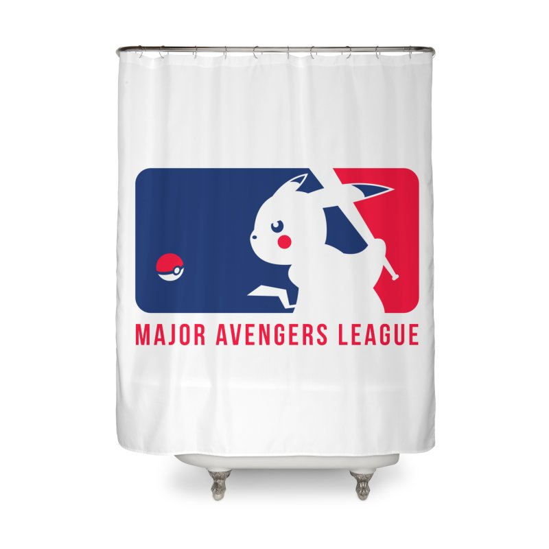 Major Avengers League Home Shower Curtain by zoelone's Artist Shop