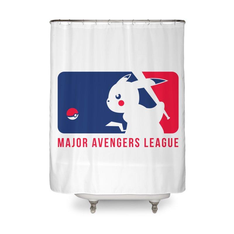 Major Avengers League Home Shower Curtain by zoelone's Artist Shop