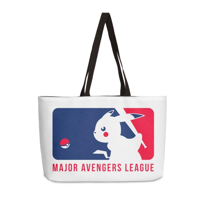 Major Avengers League Accessories Weekender Bag Bag by zoelone's Artist Shop