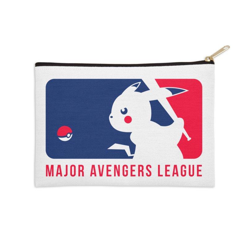 Major Avengers League Accessories Zip Pouch by zoelone's Artist Shop