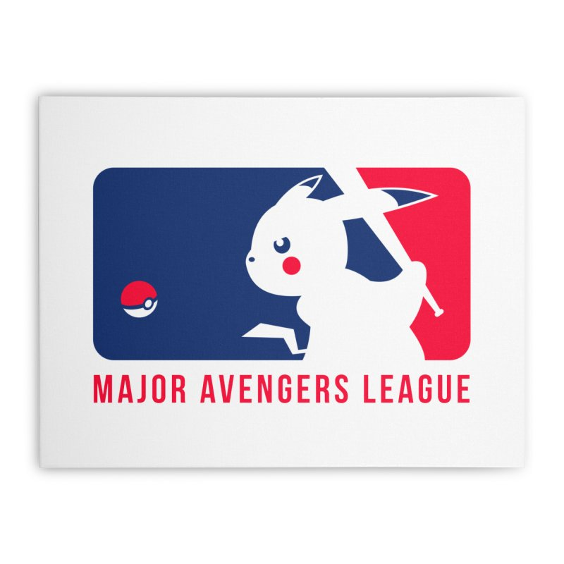 Major Avengers League Home Stretched Canvas by zoelone's Artist Shop