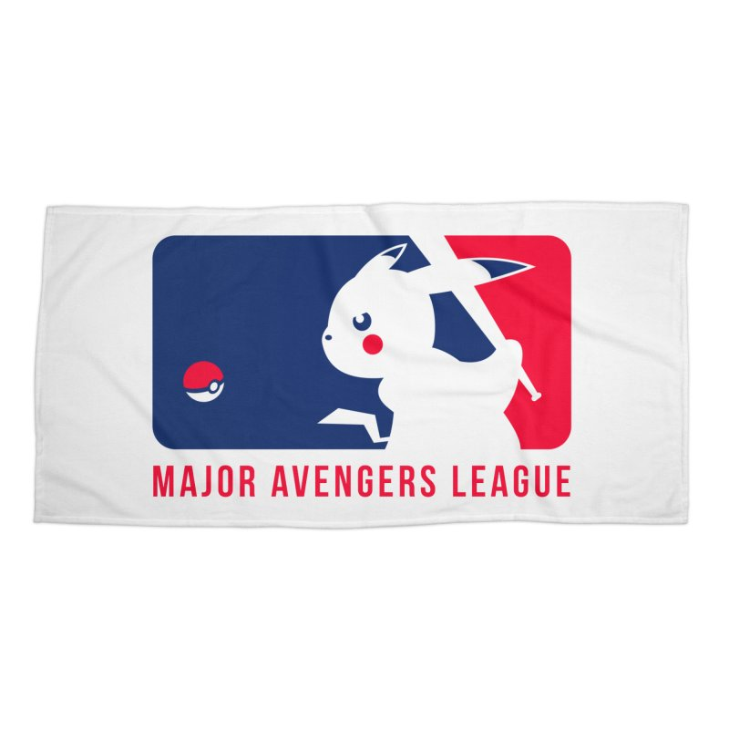Major Avengers League Accessories Beach Towel by zoelone's Artist Shop