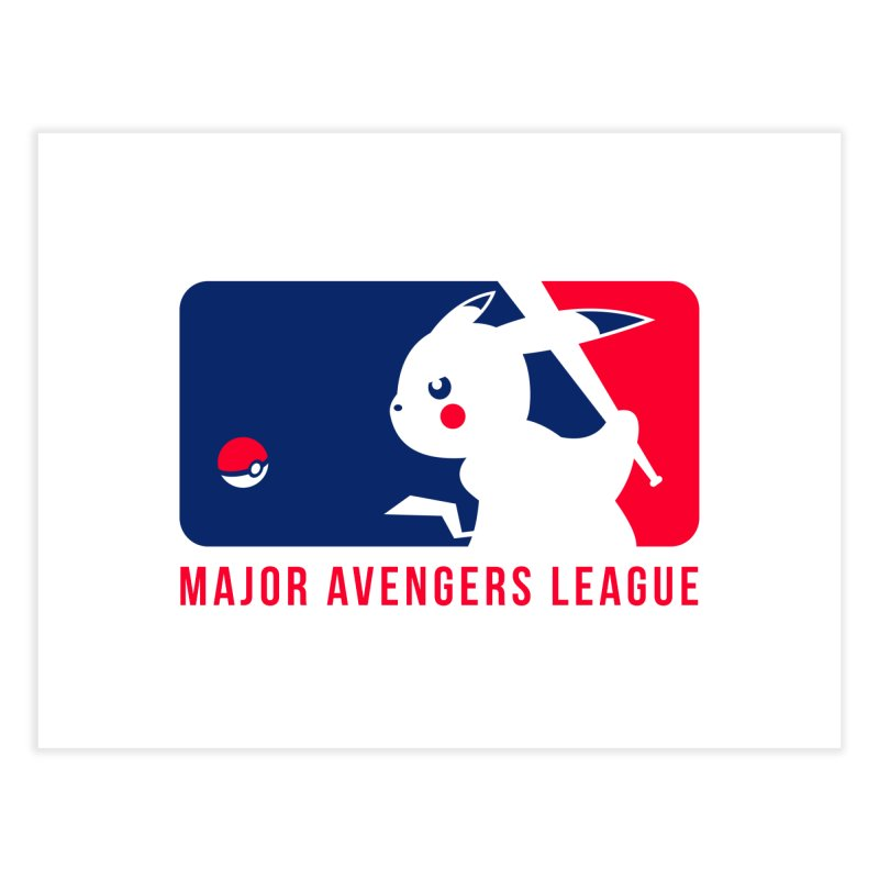 Major Avengers League Home Fine Art Print by zoelone's Artist Shop