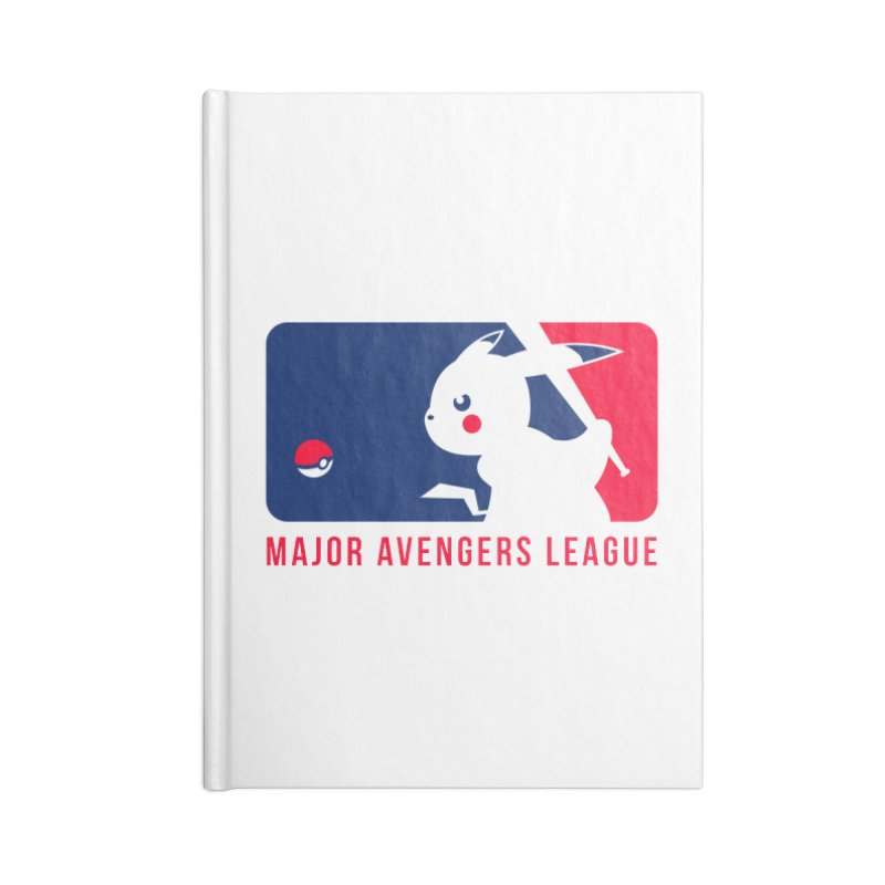 Major Avengers League Accessories Lined Journal Notebook by zoelone's Artist Shop