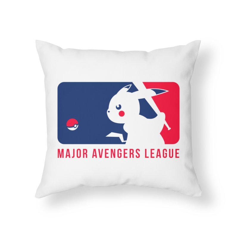Major Avengers League Home Throw Pillow by zoelone's Artist Shop