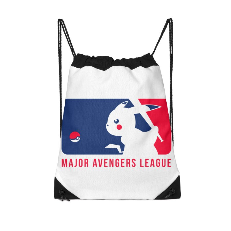 Major Avengers League Accessories Drawstring Bag Bag by zoelone's Artist Shop