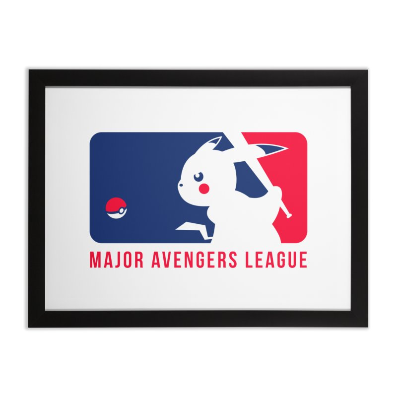 Major Avengers League Home Framed Fine Art Print by zoelone's Artist Shop