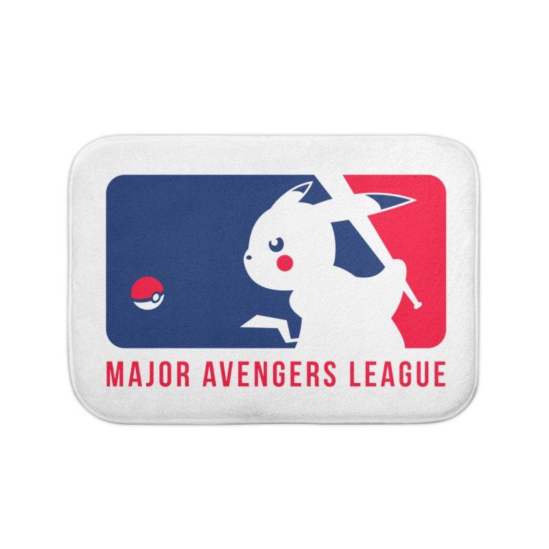Major Avengers League Home Bath Mat by zoelone's Artist Shop