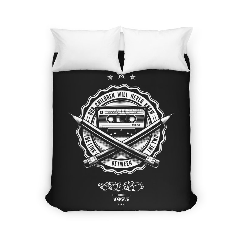 Our Children Will Never Know.. Black Home Duvet by zoelone's Artist Shop