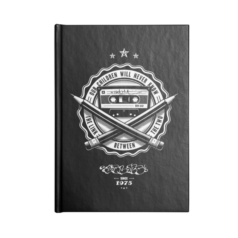 Our Children Will Never Know.. Black Accessories Lined Journal Notebook by zoelone's Artist Shop