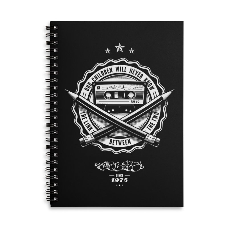 Our Children Will Never Know.. Black Accessories Lined Spiral Notebook by zoelone's Artist Shop