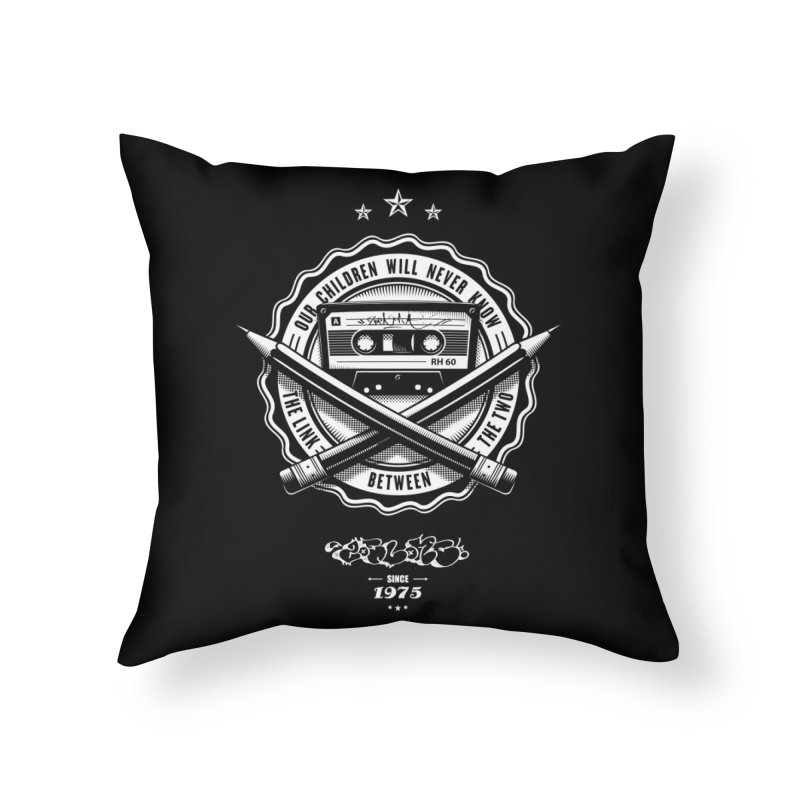 Our Children Will Never Know.. Black Home Throw Pillow by zoelone's Artist Shop
