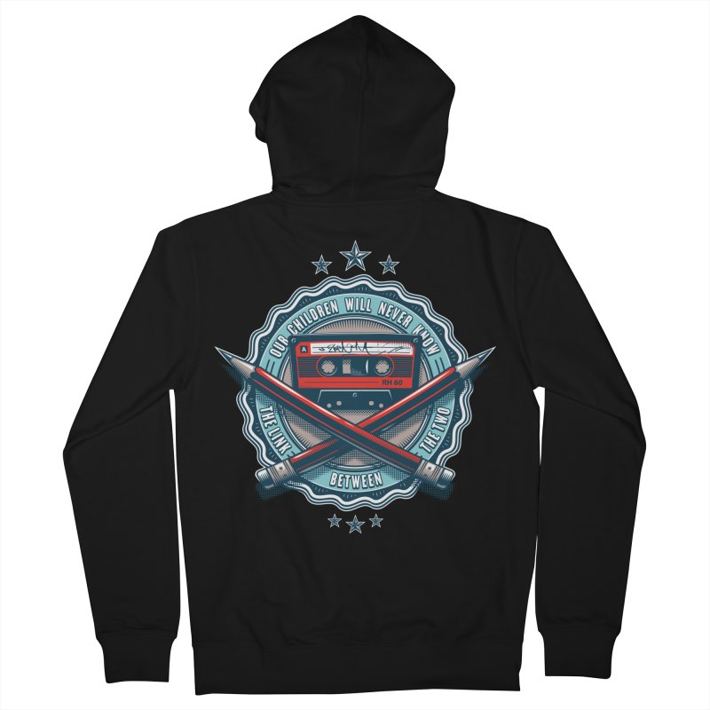 Our Children will Never Know the Link Between the Two Men's Zip-Up Hoody by zoelone's Artist Shop