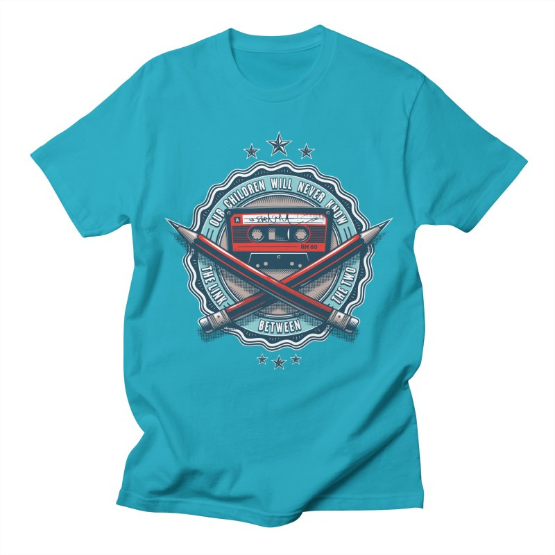 Our Children will Never Know the Link Between the Two Men's T-Shirt by zoelone's Artist Shop