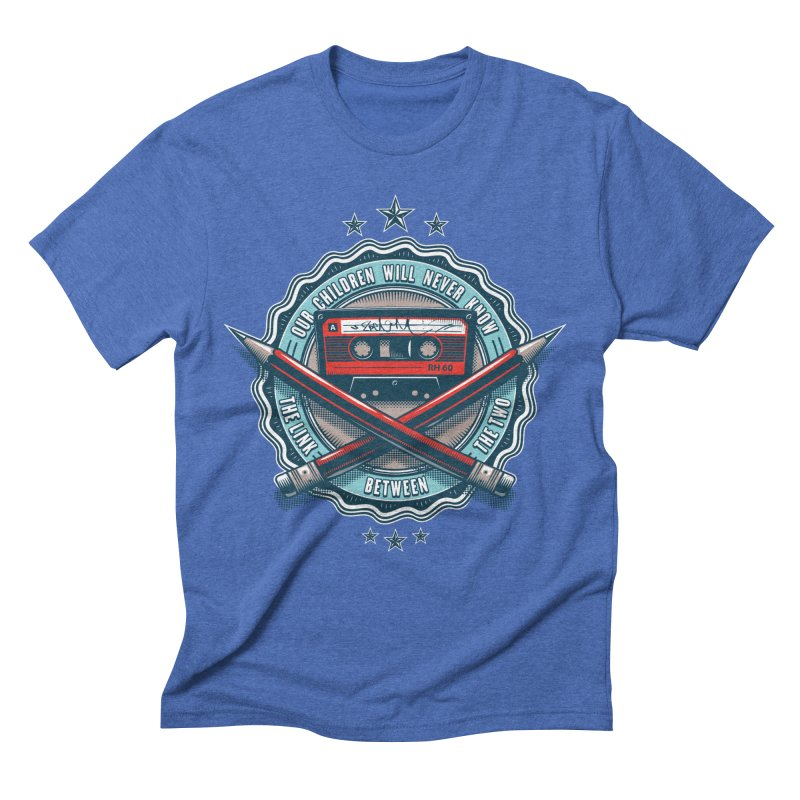Our Children will Never Know the Link Between the Two Men's Triblend T-Shirt by zoelone's Artist Shop